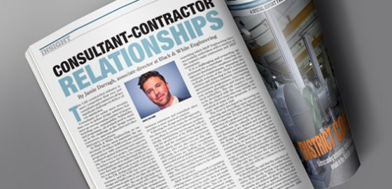 Jamie's article on Consultant-Contractor relationships