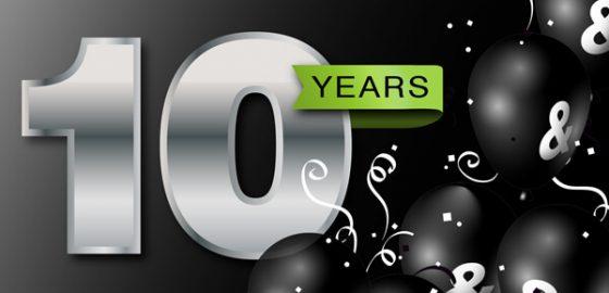 A decade of success!