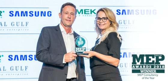 Triple Success at MEP Middle East Awards