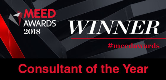 MEED Consultant of the Year 2018