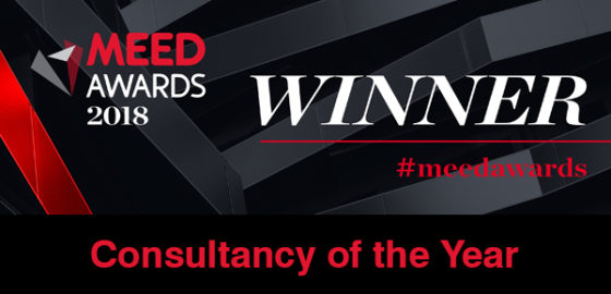 MEED Consultancy of the Year 2018