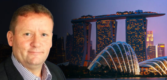 Andy Woodward is Appointed Director, Singapore