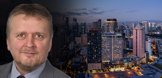 Brian Dryburgh Relocates to Manila