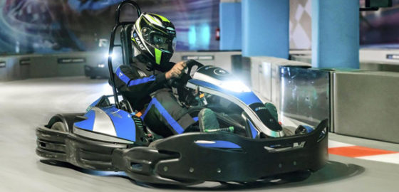 Black & White deliver new go-karting attraction