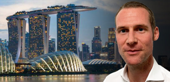 Ross joins the Singapore Office